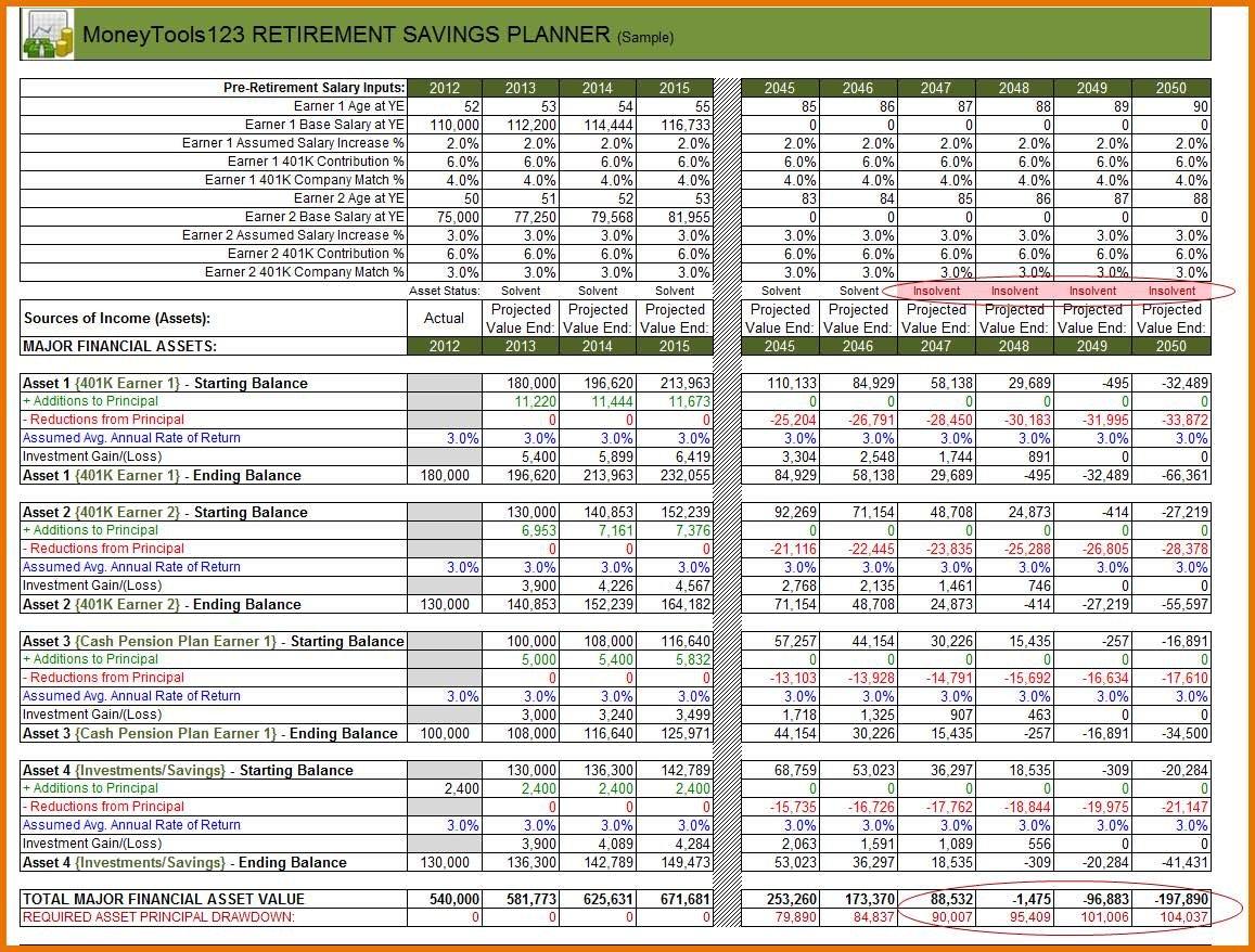 Retirement Expense Worksheet – Emmamcintyrephotography Inside Retirement Expense Worksheet