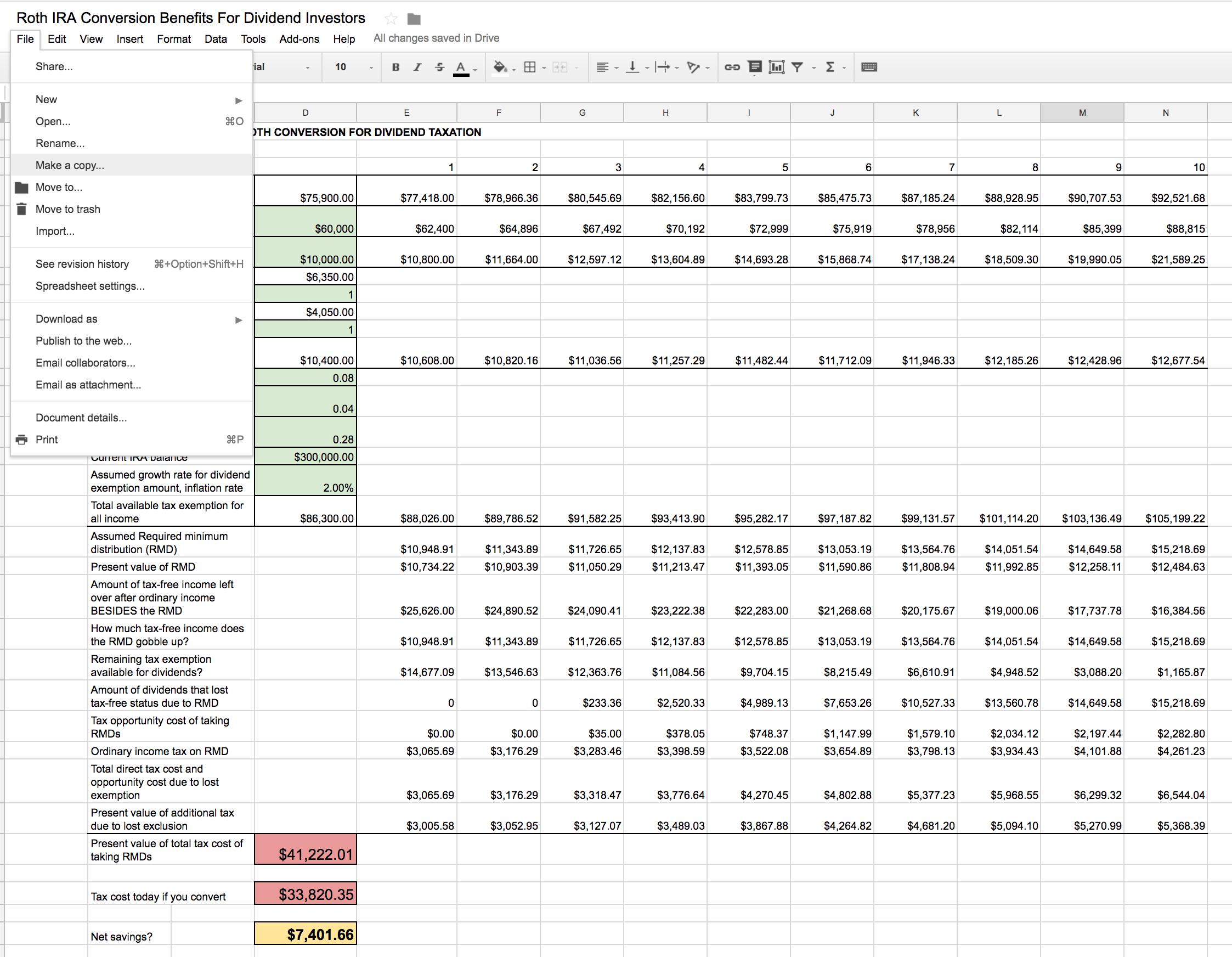Roth Ira Conversion Spreadsheet  Seeking Alpha Or Funding 401Ks And Roth Iras Worksheet