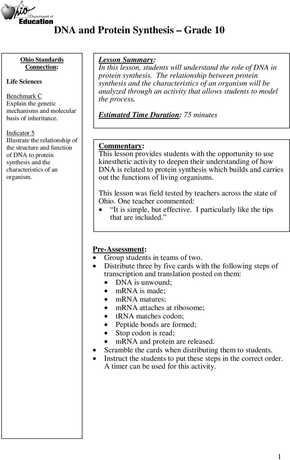 Say It With Dna Protein Synthesis Worksheet  Briefencounters Within Say It With Dna Protein Synthesis Worksheet