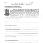 Scientific Method Story Worksheet In Scientific Method Worksheet Answer Key