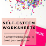 Self Esteem Workbook Pdf  A Supreme Resource For Your Confidence For Self Esteem And Self Worth Worksheets