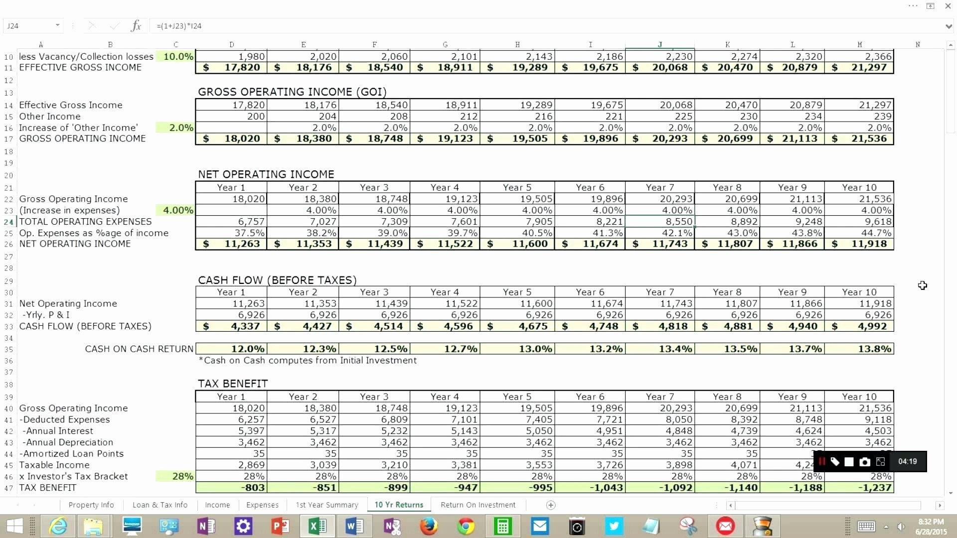 Sheet Pile Design Spreadsheet Or Cap Rate Spreadsheet Best 12 Luxury ... Intended For Cap Rate Spreadsheet