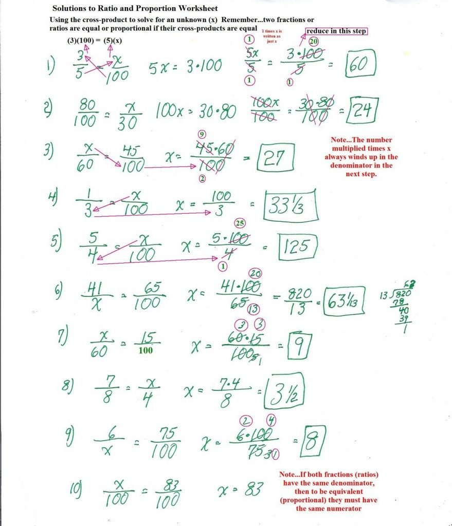 Solving Proportions Worksheet Answers  Soccerphysicsonline Regarding Solving Proportions Worksheet Answers