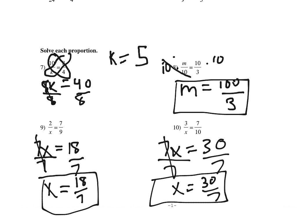 Solving Proportions Worksheet  Math Algebra  Showme With Regard To Solving Proportions Worksheet Answers