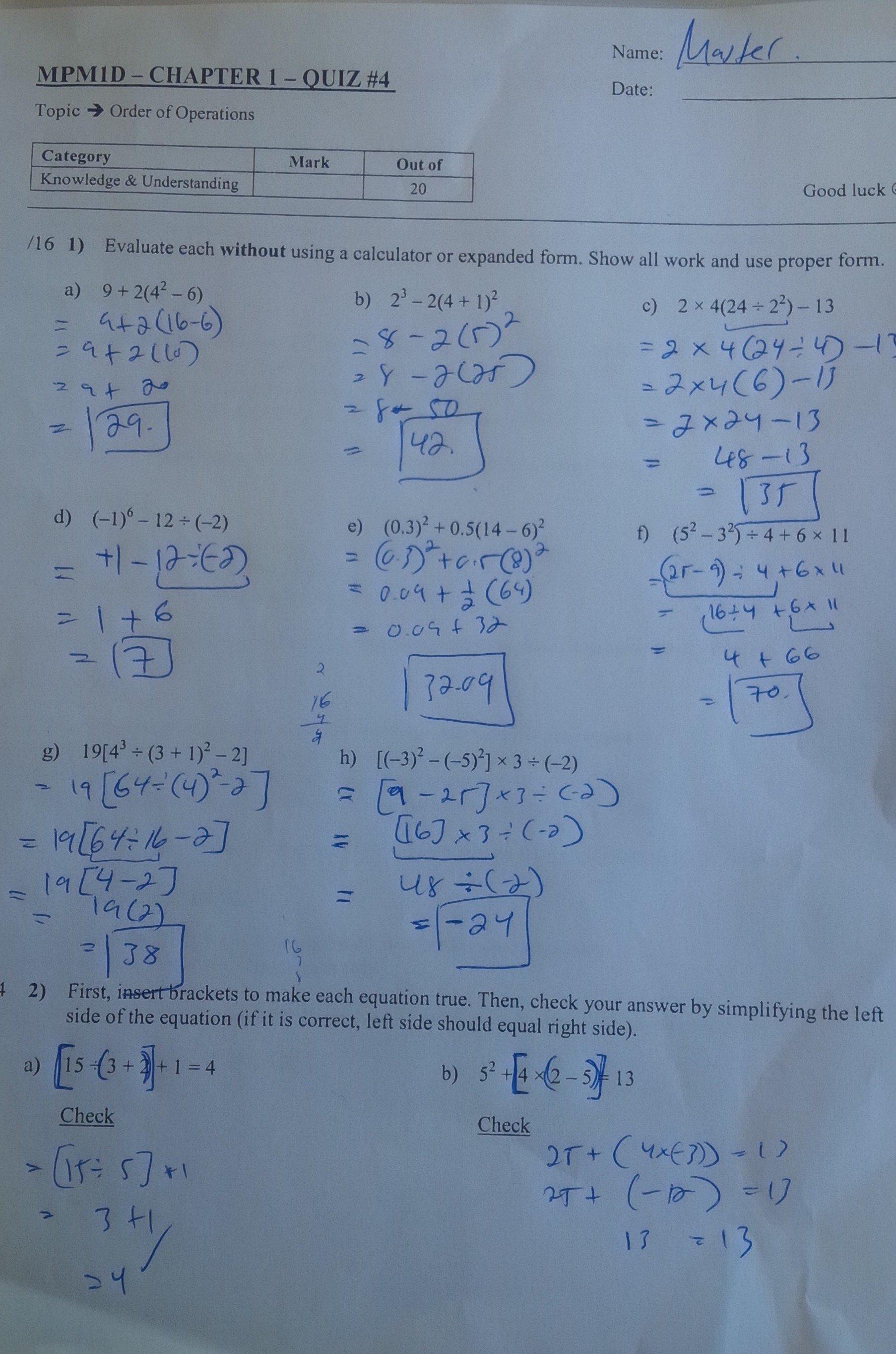 Solving Quadratic Equationscompleting The Square Worksheet With Solving Quadratic Equations By Completing The Square Worksheet Answer Key