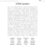 Stem Careers Word Search  Wordmint For Stem Careers Worksheet 1 Answers