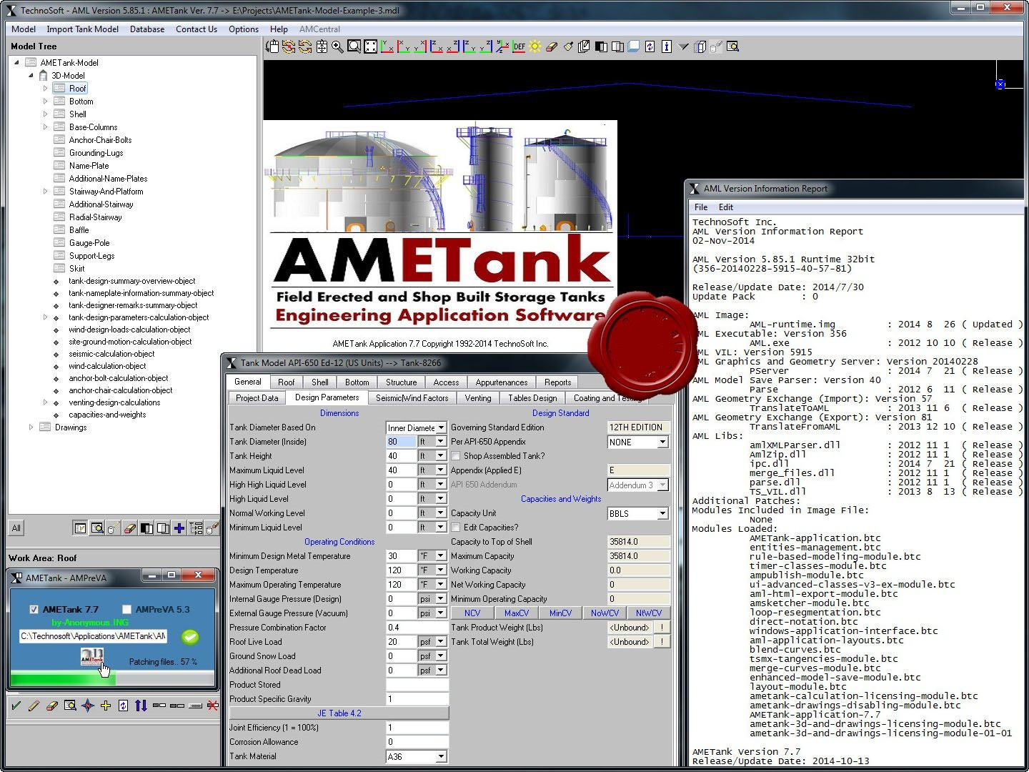 Tank Design Software | Storage Tank Software | Oil Tank Intended For Oil Storage Tank Foundation Design Spreadsheet