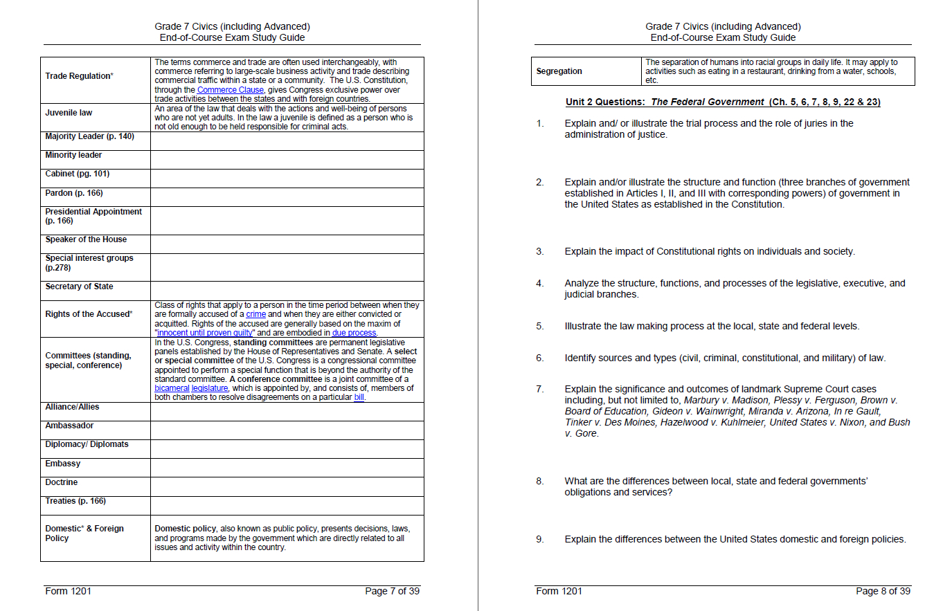 Teaching The Benchmarks  Florida Civics In Icivics Cabinet Building Worksheet Answers