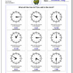Telling Analog Time Inside Time To The Minute Worksheets