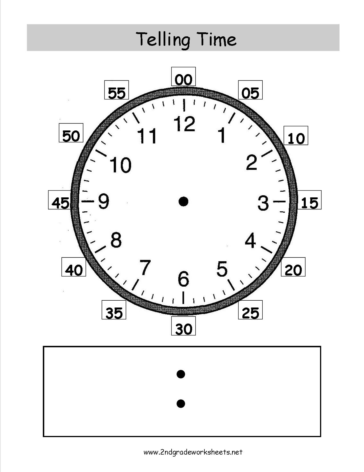 Telling And Writing Time Worksheets Inside Digital Clock Worksheets