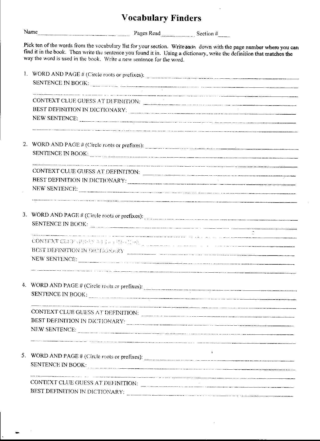 The Giver Vocabulary Worksheets Answers The Best Worksheets Image For The Giver Worksheets Pdf