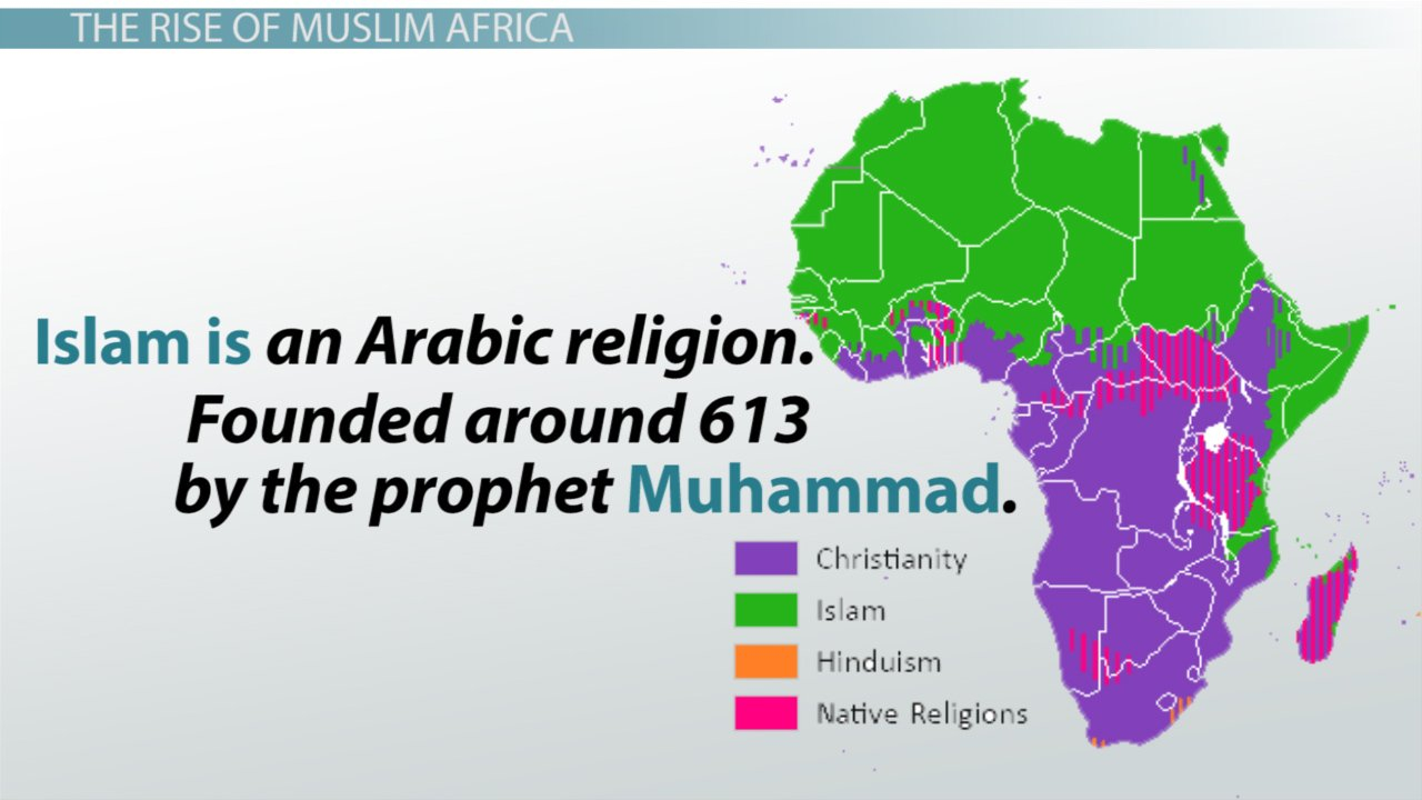 The Rise Of Muslim States In Africa  Video  Lesson Transcript Or Rise Of Islam Worksheet