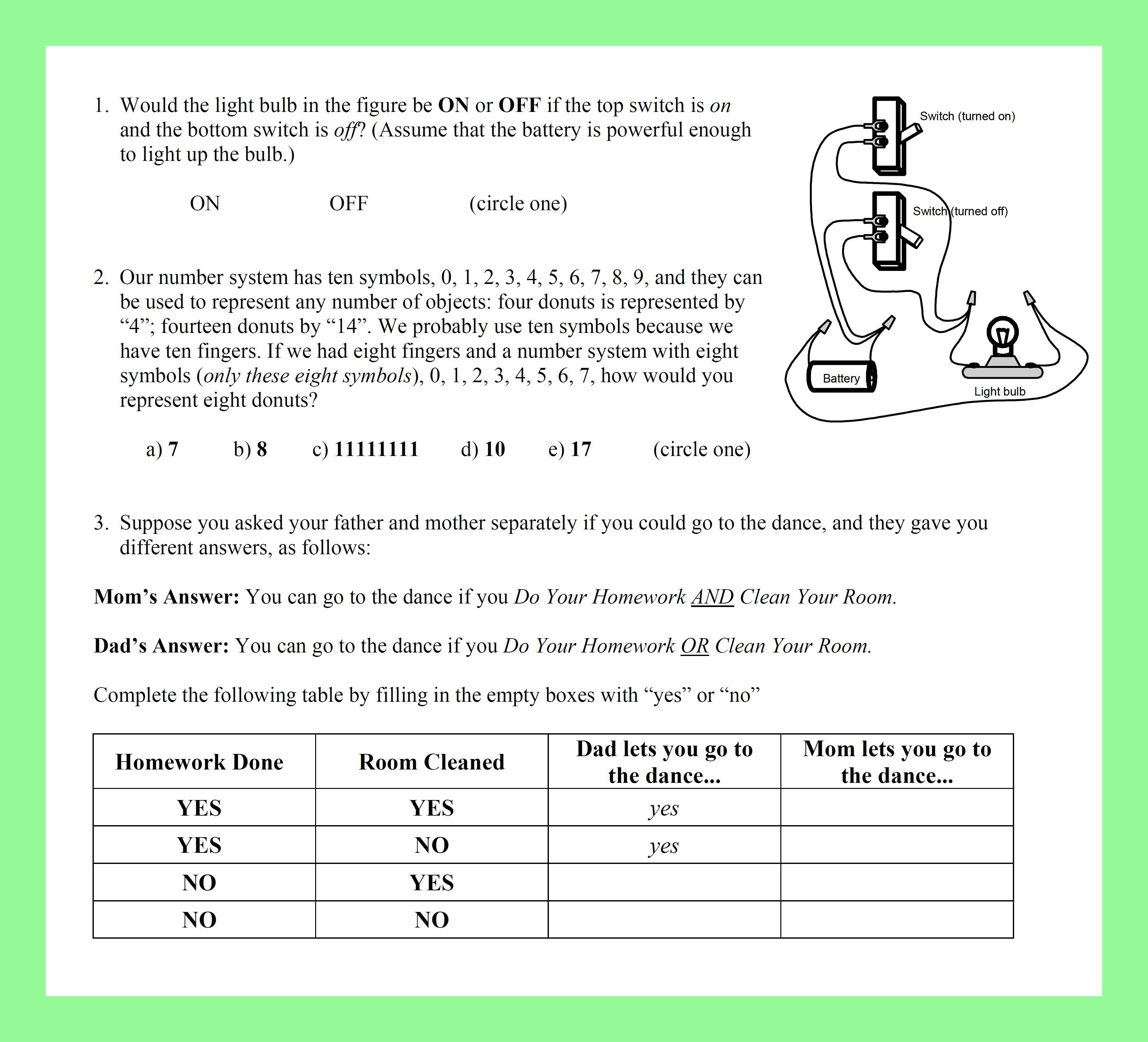 The Science Teacher Online Connections With Regard To Data Analysis Worksheets High School Science