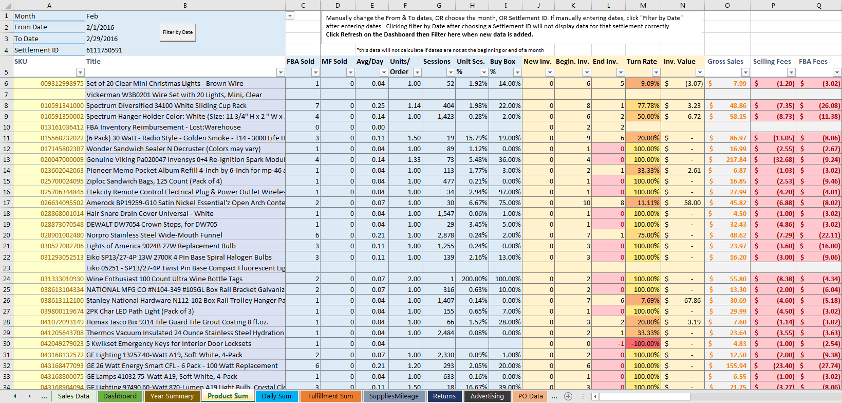 The Ultimate Amazon Fba Sales Spreadsheet V2 Together With Amazon Fba Excel Spreadsheet