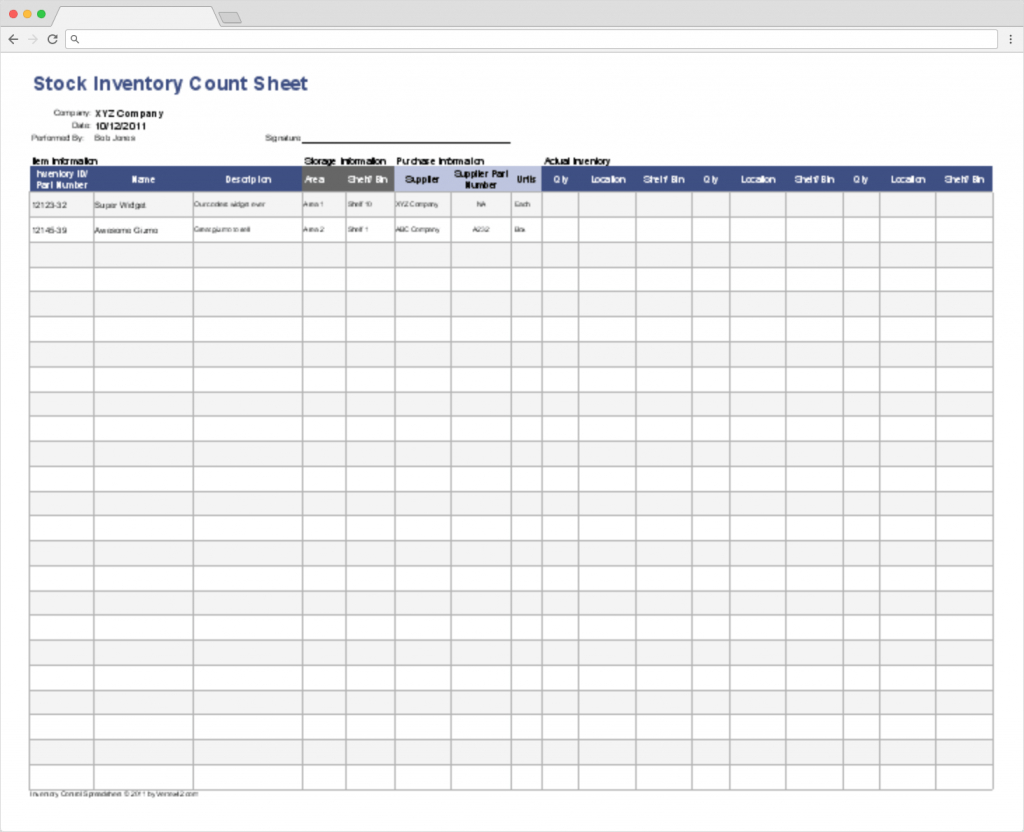 Top 10 Inventory Excel Tracking Templates - Blog Sheetgo Within Stocktake Excel Spreadsheet