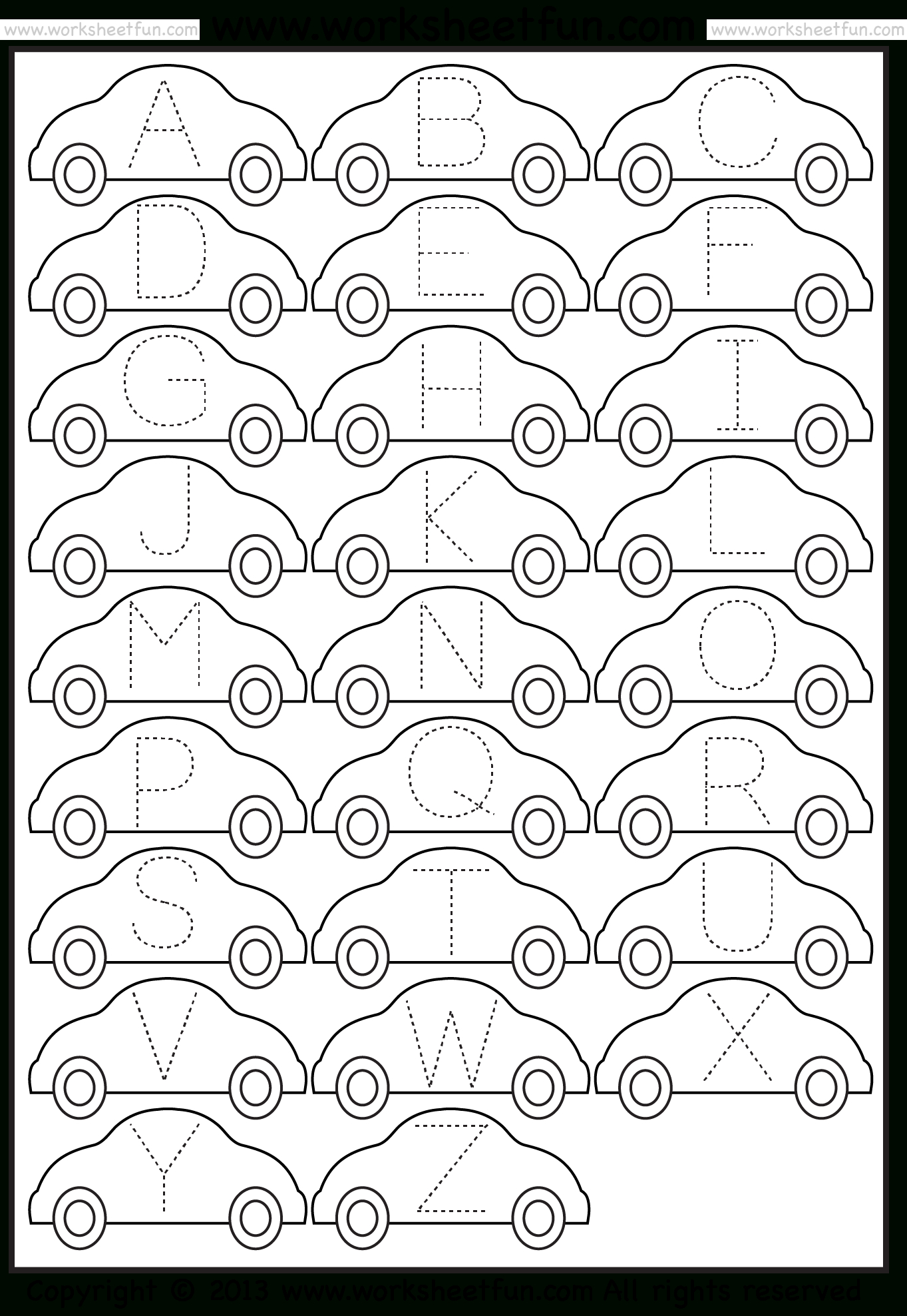 Tracing – Letter Tracing  Free Printable Worksheets – Worksheetfun Intended For Preschool Tracing Worksheets