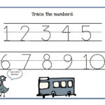 Tracing Numbers 110 Worksheets  Activity Shelter Intended For Numbers 1 10 Worksheets