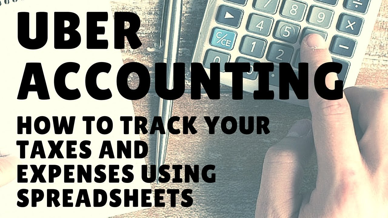 Uber & Lyft Drivers   How To Track Taxes, Expenses, Deductions Using ... Or Lyft Spreadsheet