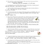 Unit 5 Worksheet 2 In Chemistry Unit 4 Worksheet 2