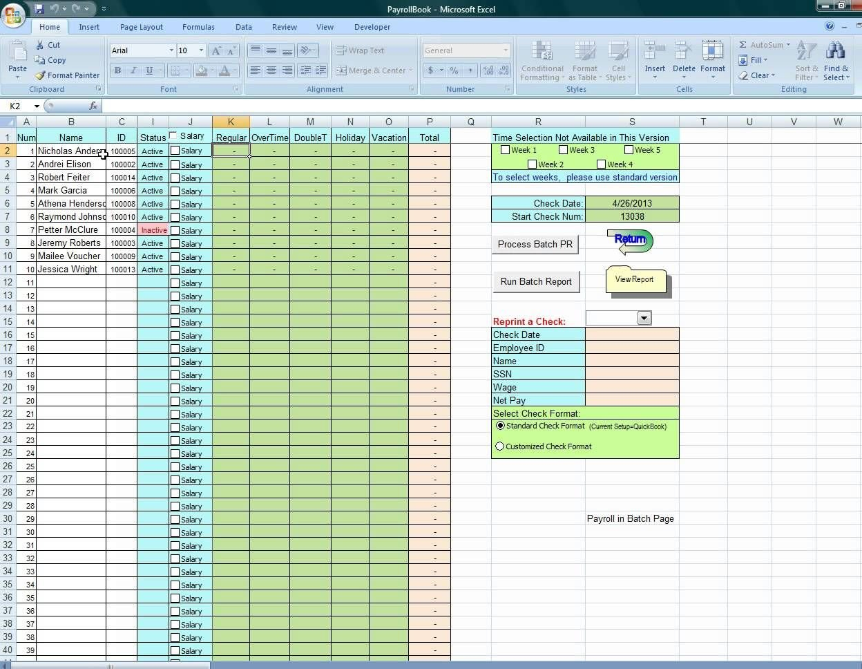 Using Excel To Process Payroll Dyi | I Can Do That | Payroll ... Also Payroll Accrual Spreadsheet Template