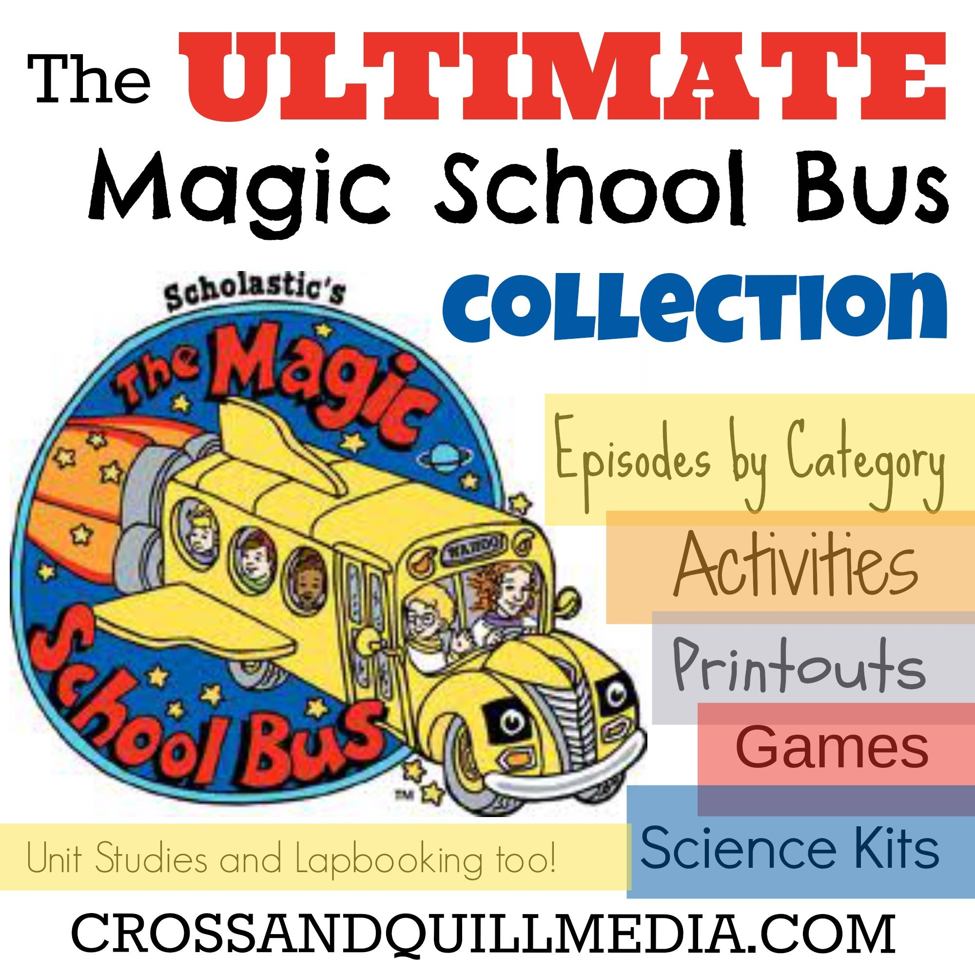Using Magic School Bus For Science Curriculum  Cross And Quill Media Within Magic School Bus Gets Planted Worksheet