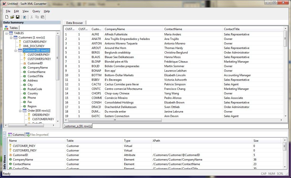 Using Swift Xml Converter To Convert Xml To Excel In Convert Xml To Excel Spreadsheet