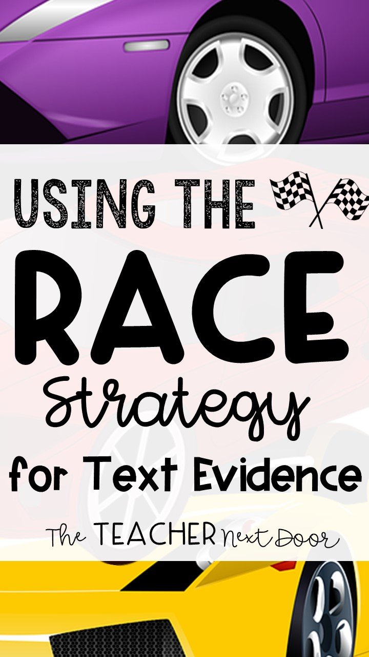 Using The Race Strategy For Text Evidence Pertaining To Race Writing Strategy Worksheet