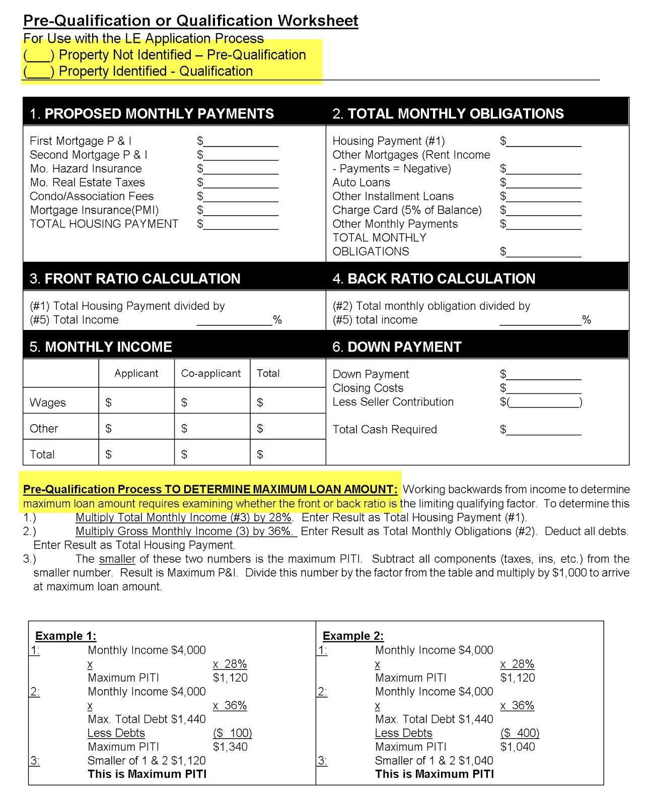 Va Maximum Loan Amount Worksheet  Briefencounters And Va Maximum Loan Amount Calculation Worksheet 2018