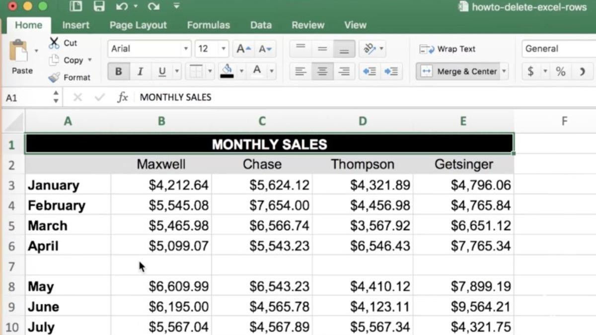 Video How To Quickly Delete Blank Rows In Excel Pertaining To Blank Checks Worksheet