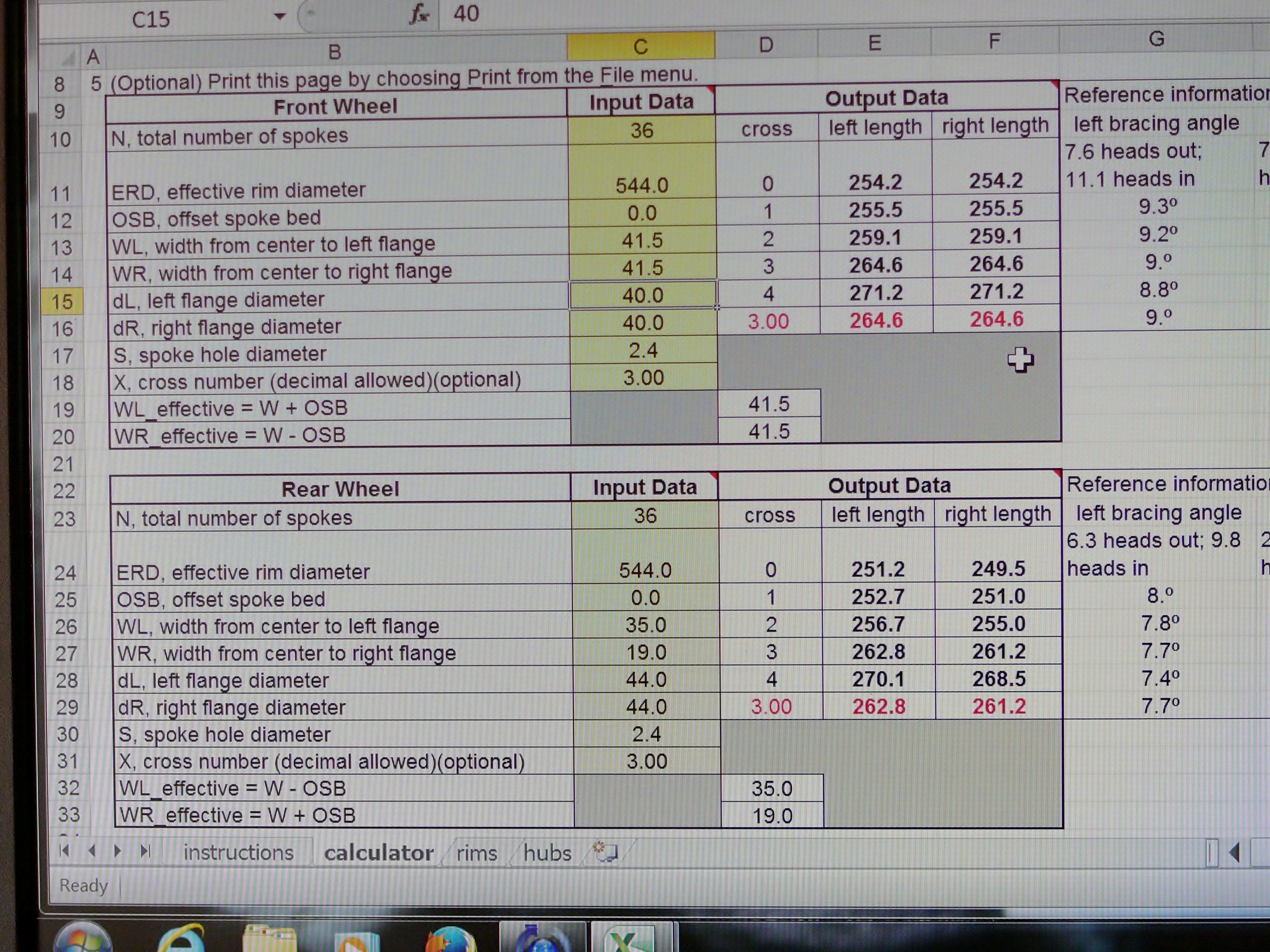 Wheel Building: The Musical | Restoring Vintage Bicycles From The ... For Simplex D Account Book Spreadsheet