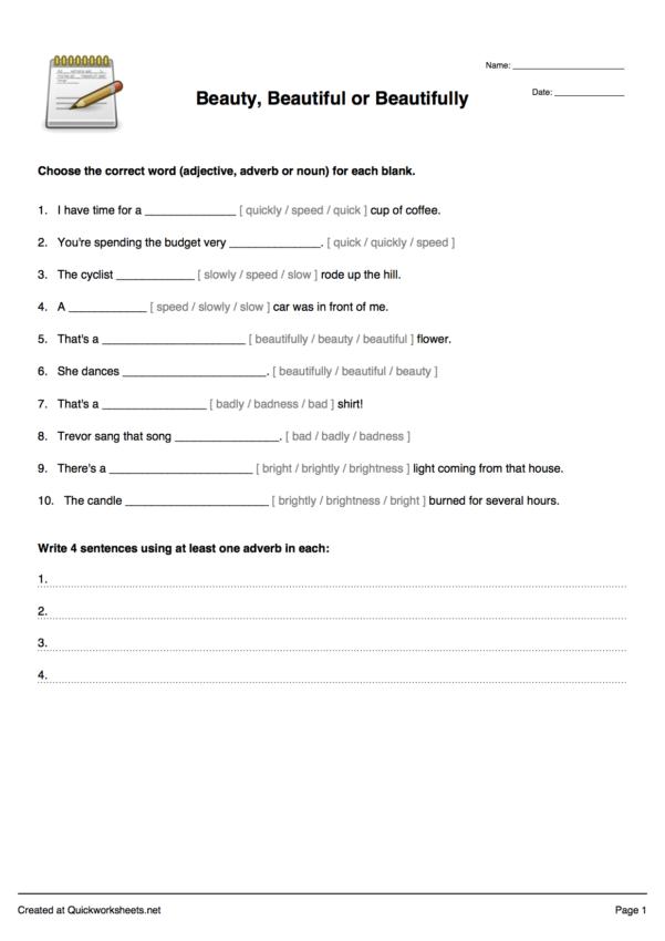Vocabulary Worksheet Generator — excelguider.com