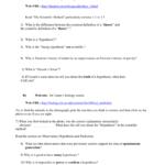 Worksheet 1 The Scientific Method And Scientific Method Worksheet Answer Key