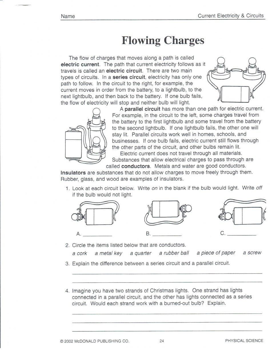 Worksheet Magnetism Worksheet Magnetism And Its Uses Worksheet The For Mcdonald Publishing Company Worksheet Answers