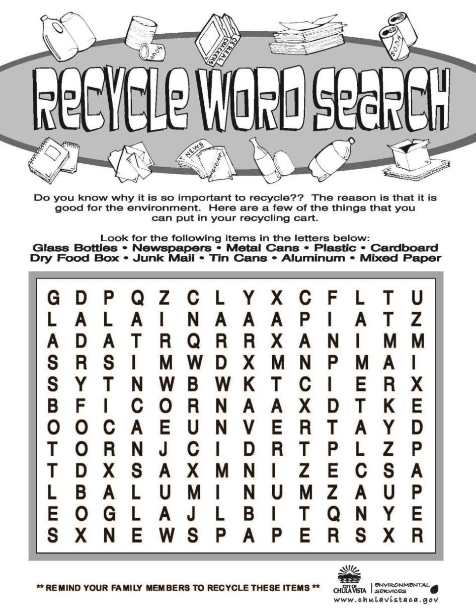 Worksheet Recycling Worksheets Workbooks Recycling Worksheets For Recycling Worksheets For Kids