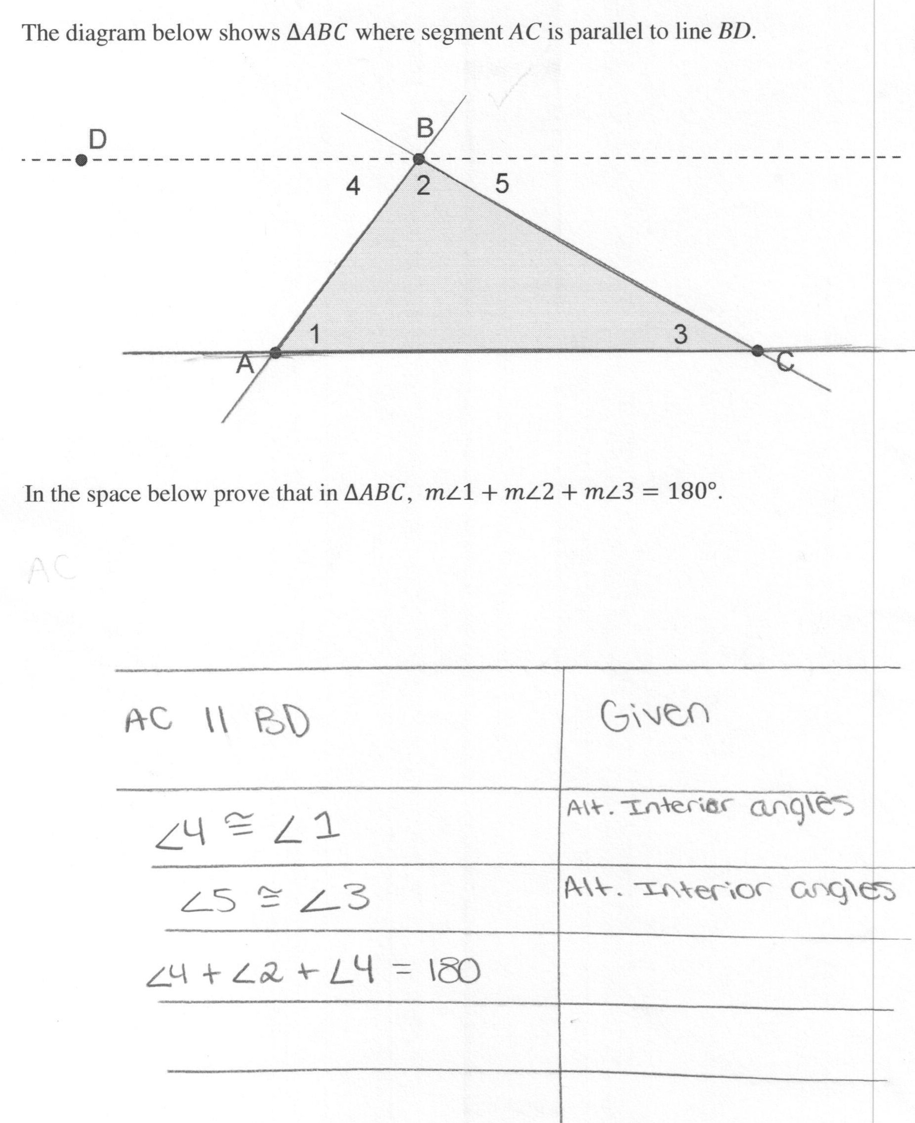 Worksheet Triangle Sum Theorem Worksheet Triangle Interior Angle Along With Triangle Interior Angle Worksheet Answers