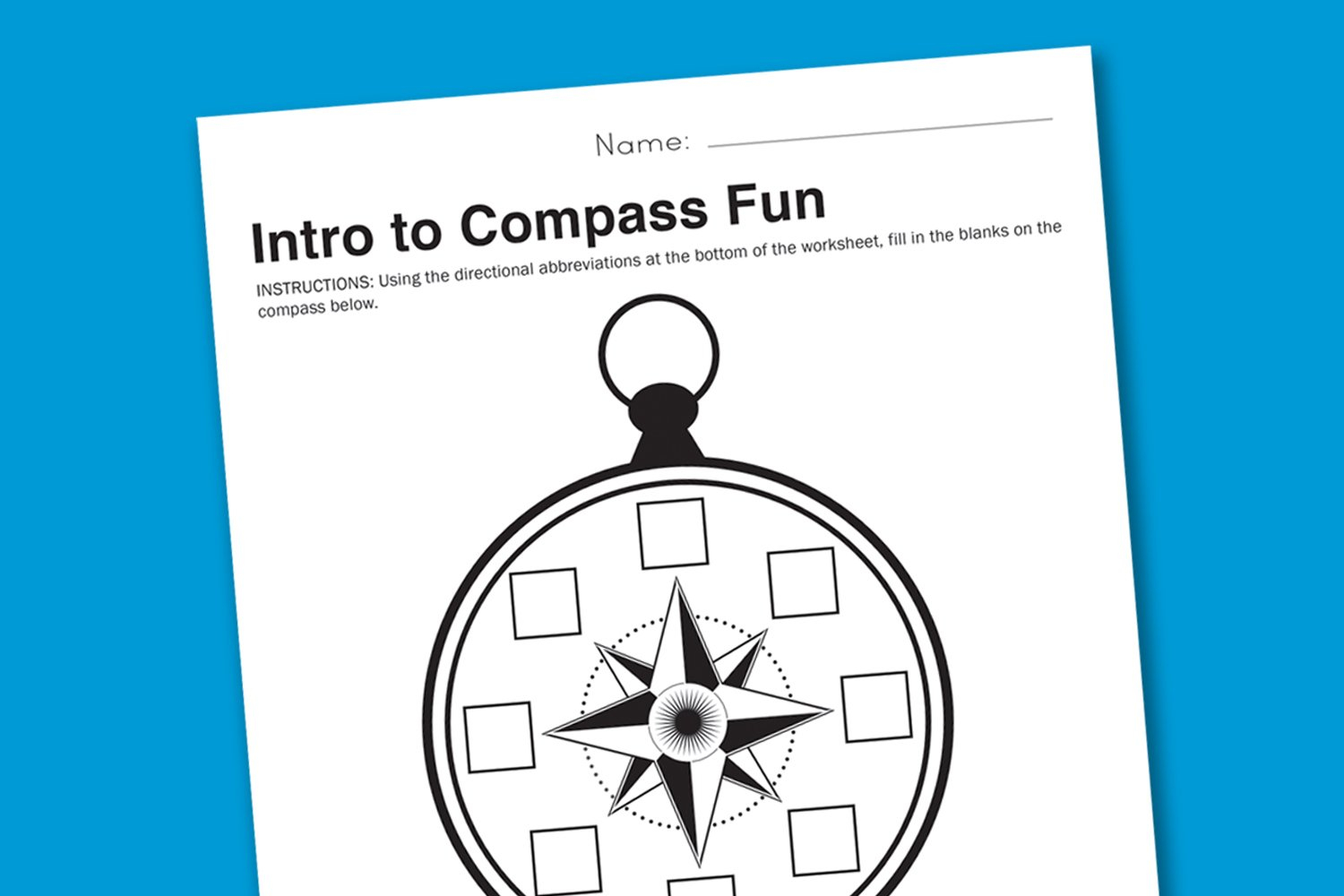 Worksheet Wednesday Intro To Compasses  Paging Supermom Together With Compass Worksheets For Kids