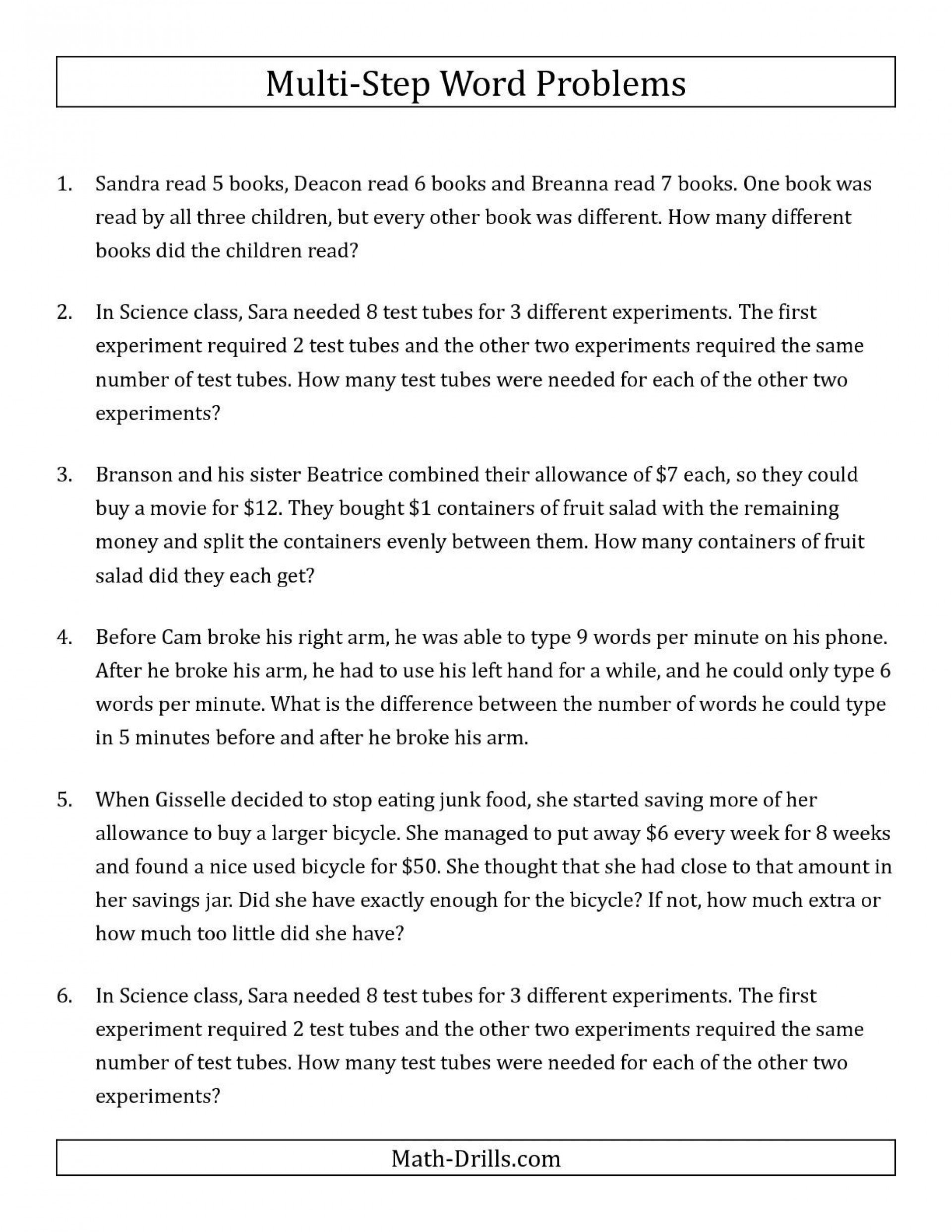 005 Printable Word Fraction Unforgettable Problems Worksheets 5Th Pertaining To Fraction Word Problems 7Th Grade Worksheet