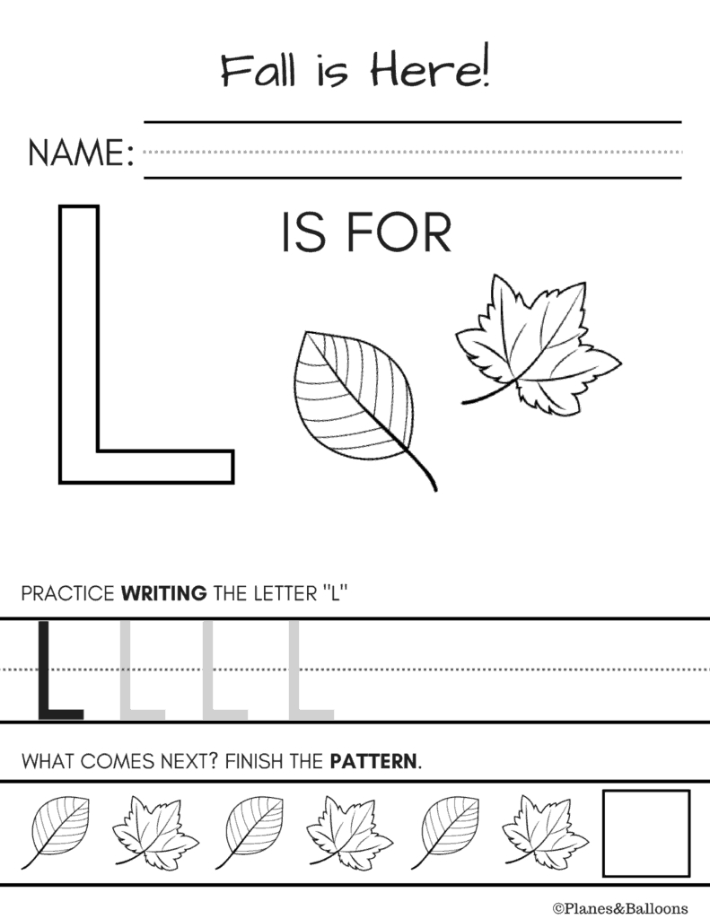 10  Fall Worksheets Kindergarten Teachers And Students Absolutely Love And Fall Worksheets For Kindergarten