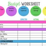 14 Easytouse Free Budget Templates  Gobankingrates Pertaining To Easy Budget Worksheet