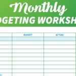 14 Easytouse Free Budget Templates  Gobankingrates Throughout Easy Budget Worksheet