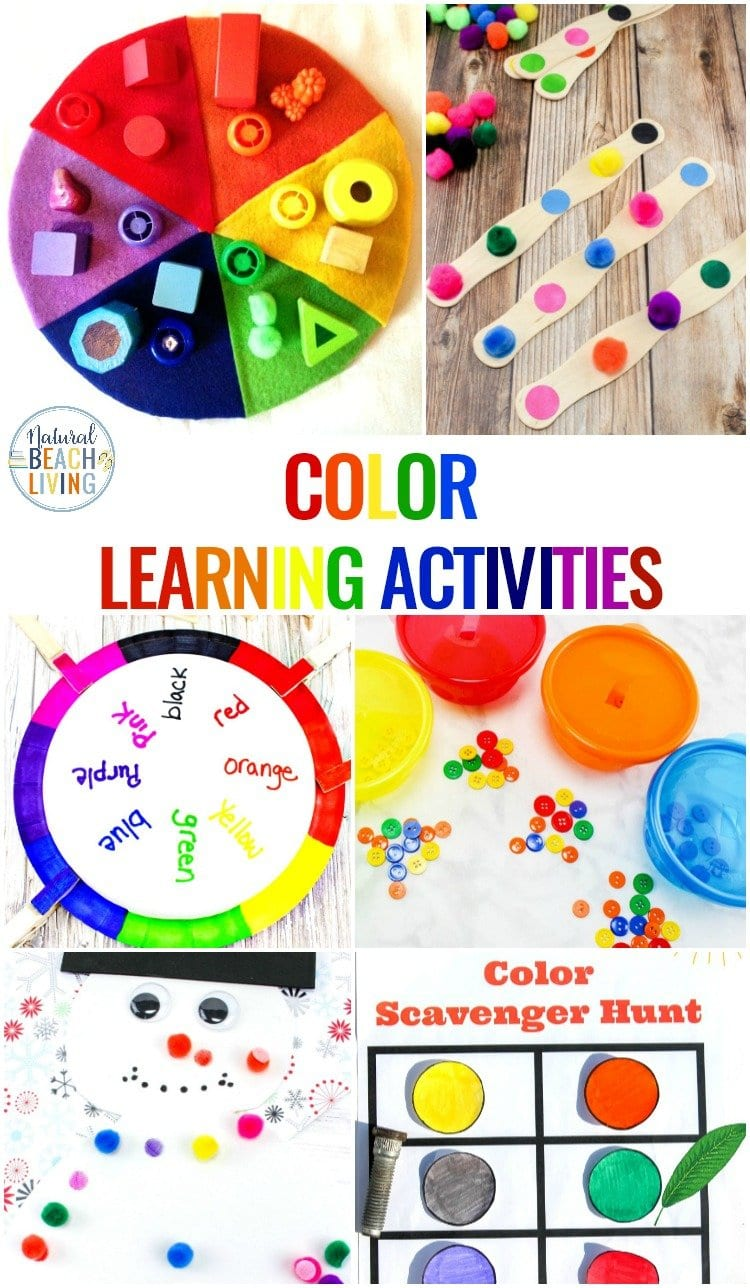 25 Preschool Color Activities Printables  Learning Colors And Learning Colors Worksheets