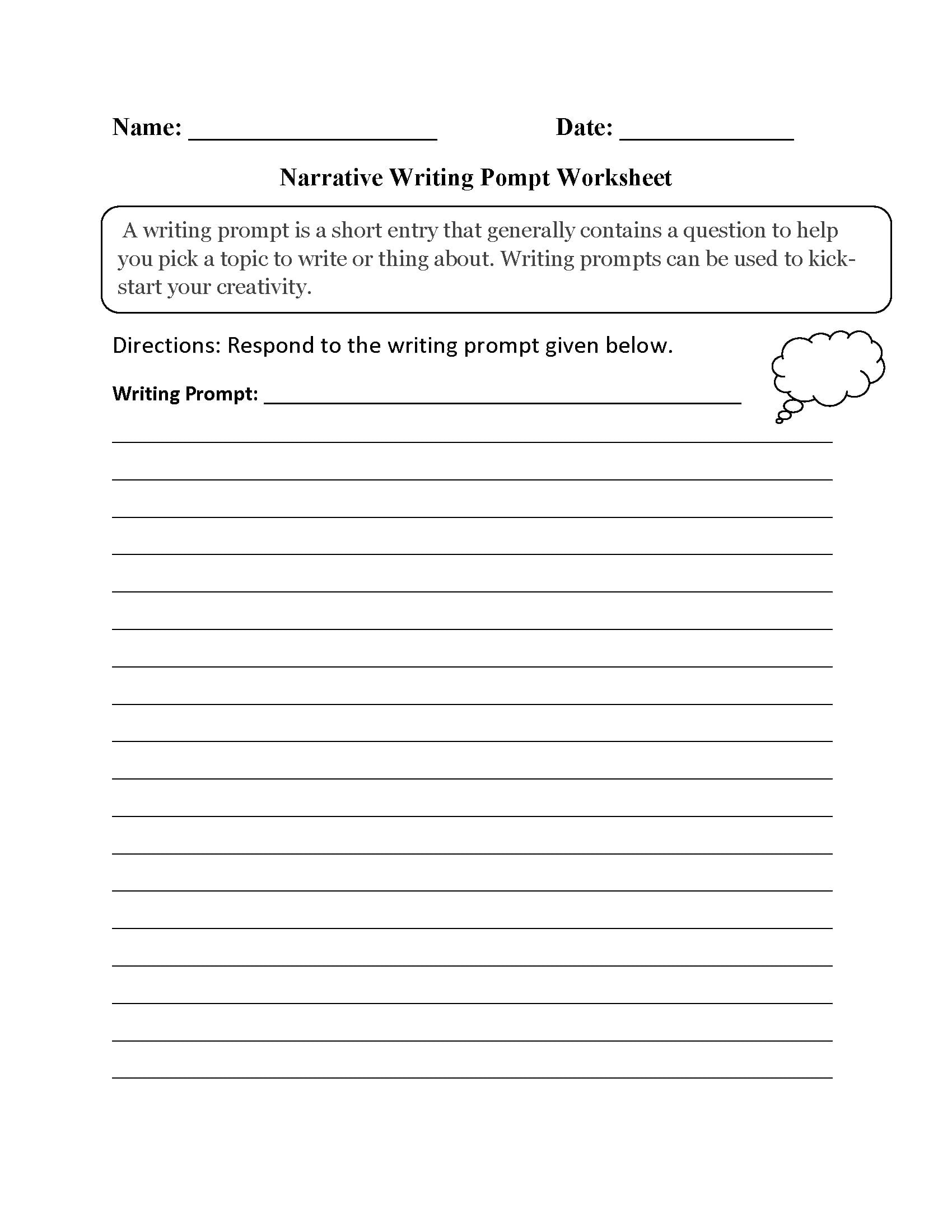 3Rd Grade Writing Worksheets  Best Coloring Pages For Kids Regarding 3Rd Grade Writing Prompts Worksheets