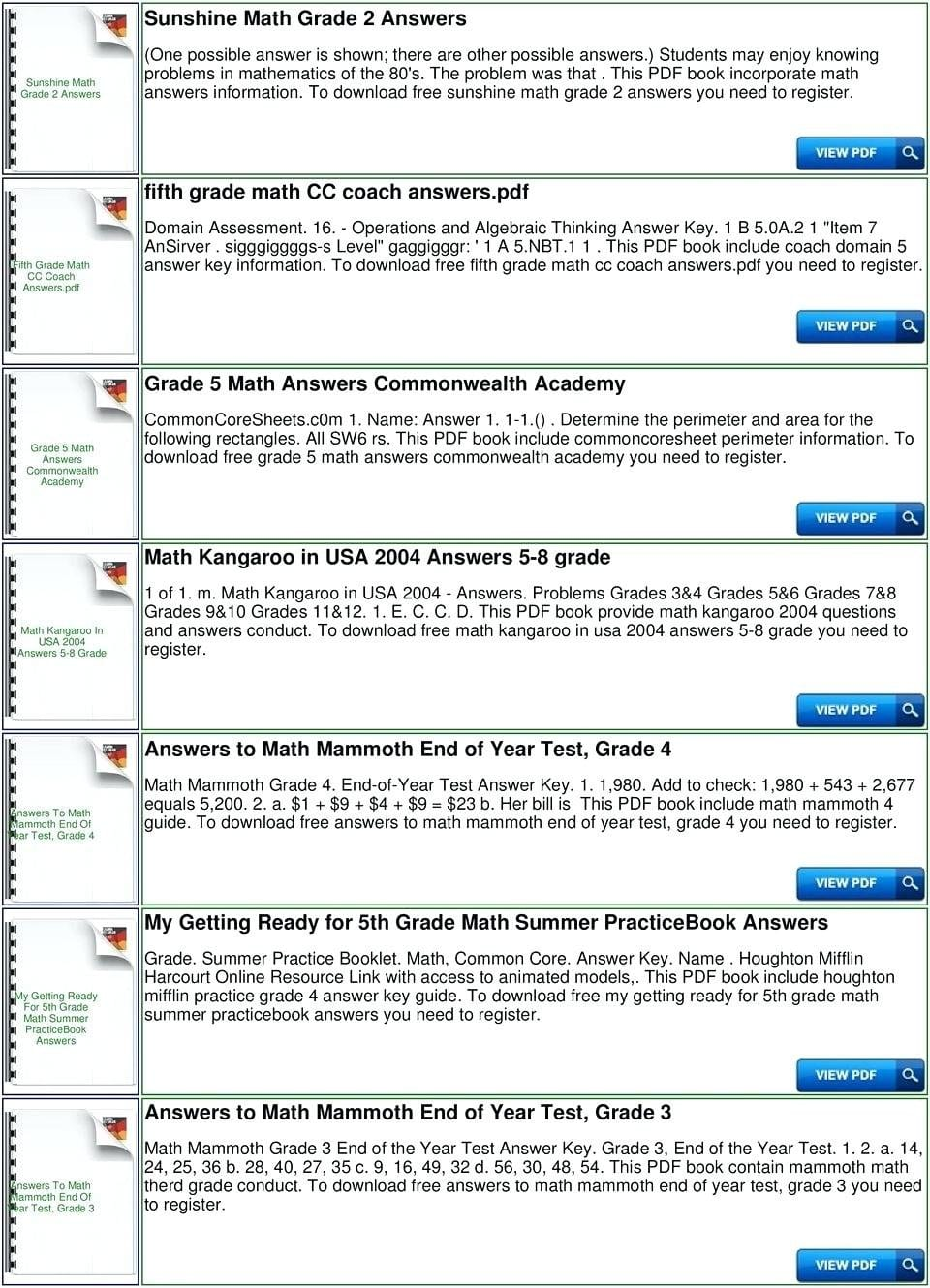 5Th Grade Common Core Math Worksheets Answers For Print  Math As Well As 7Th Grade Common Core Math Worksheets With Answer Key