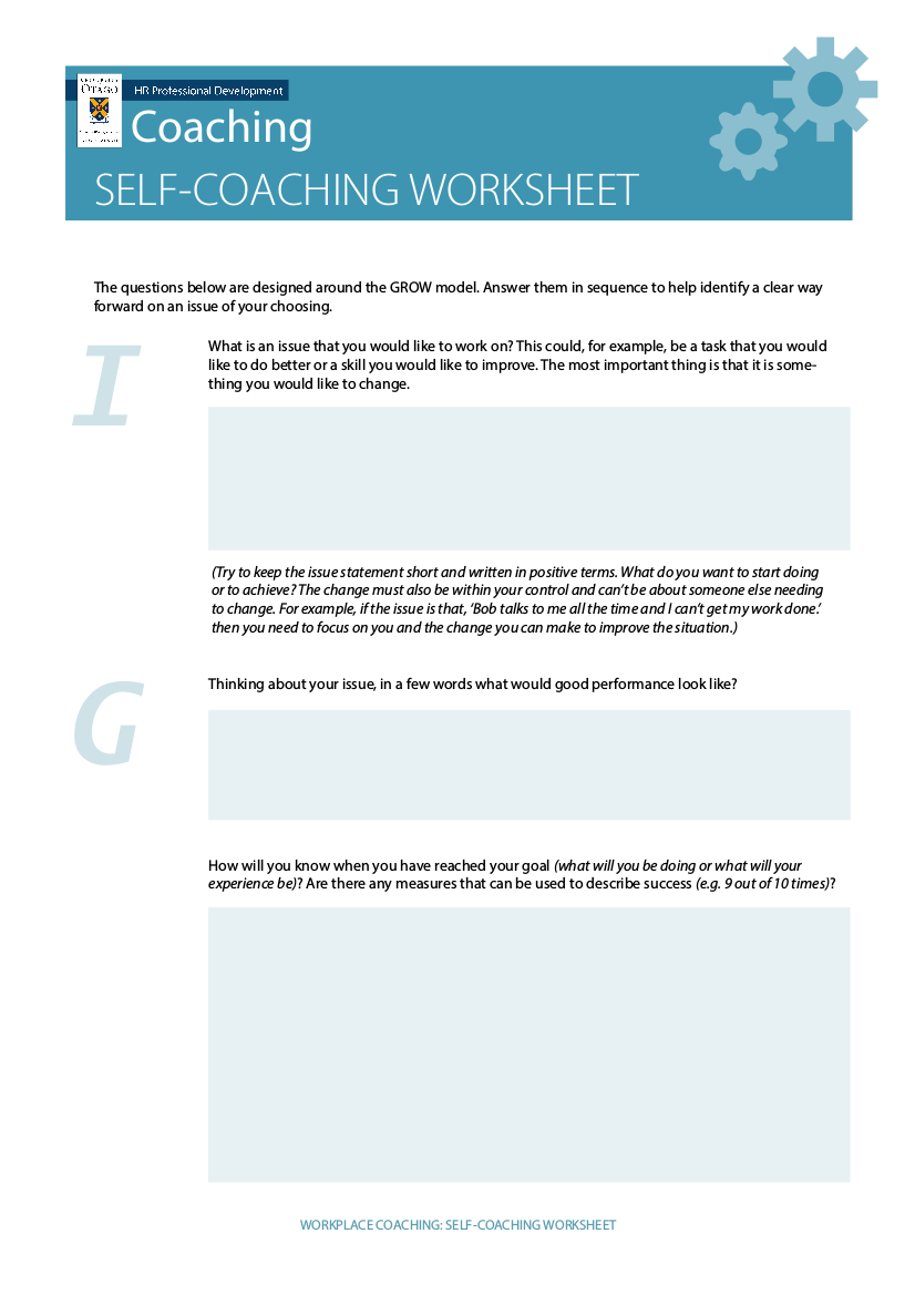 9 Coaching Worksheet Examples In Pdf  Examples Pertaining To Life Coaching Worksheets Pdf