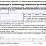 A Beginner's Guide To Filling Out Your W4 And Personal Allowances Worksheet Help