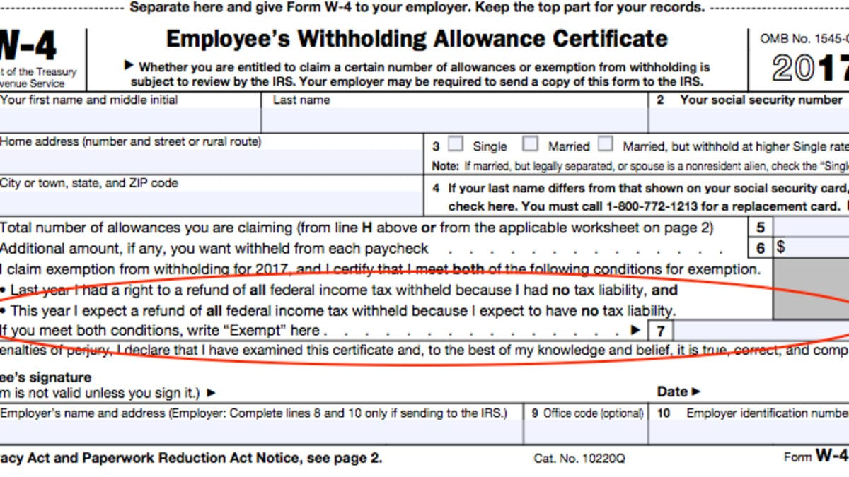 A Beginner's Guide To Filling Out Your W4 Within Personal Allowances Worksheet Help
