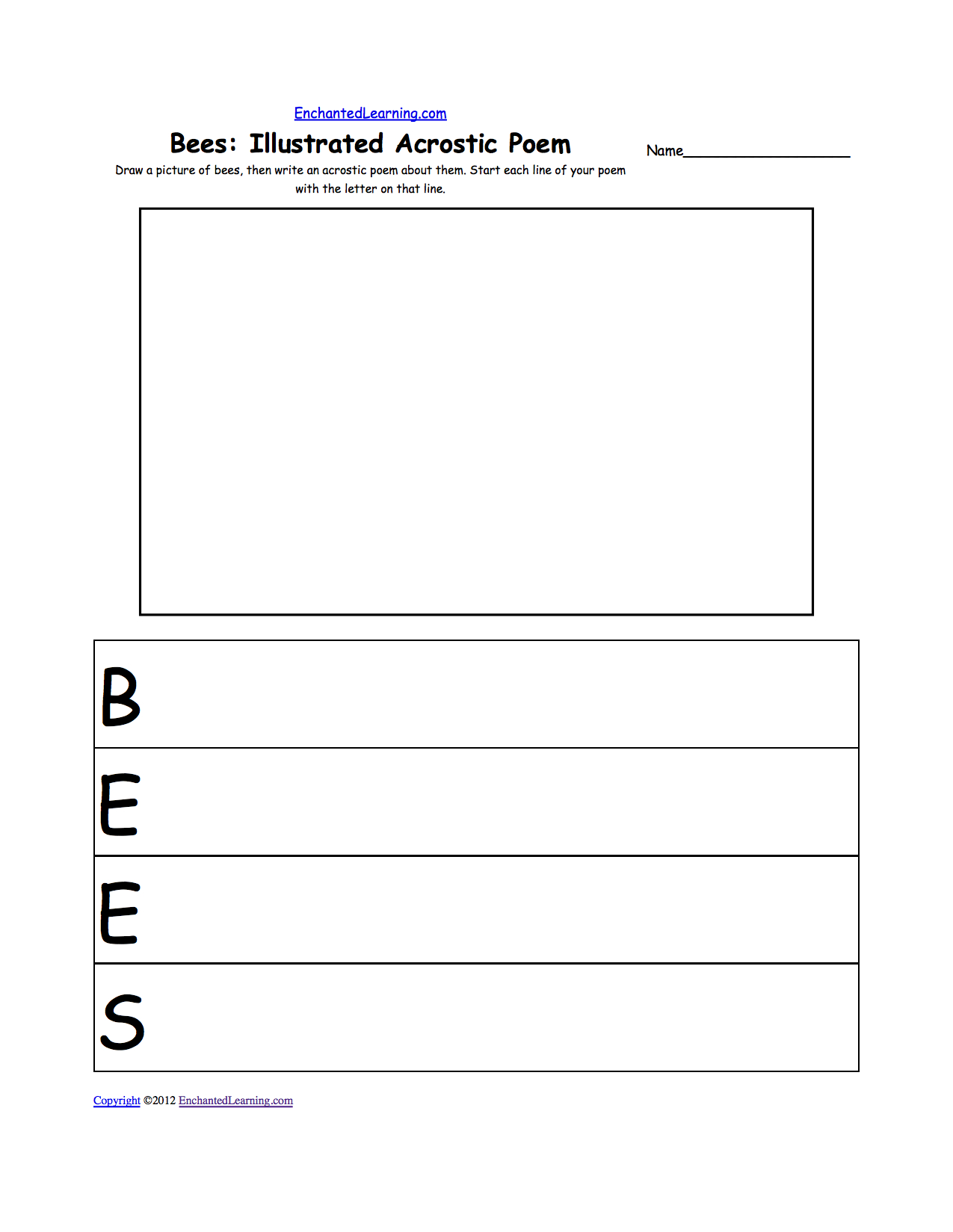 Acrostic Poems Plus Generate Your Own Poetry Worksheets Together With Poetry Worksheets Printable