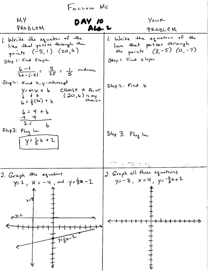 Algebra 2 For Algebra 2 Worksheets With Answer Key