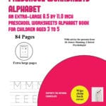 Alphabet Preschool Worksheets Age 3 On Area Of A Triangle Worksheet Along With Preschool Worksheets Age 3