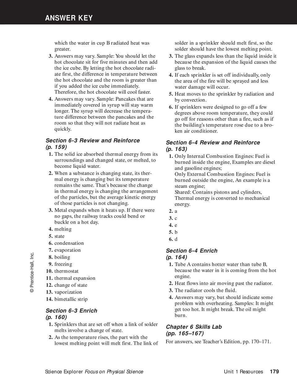 Answer Key Chapter 1  Pdf With Regard To Section 2 Reinforcement Acceleration Worksheet Answers